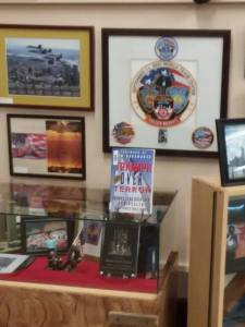 CC Veterans Museum 1 TOT in display