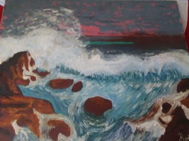 Seascape by Bob Ossler