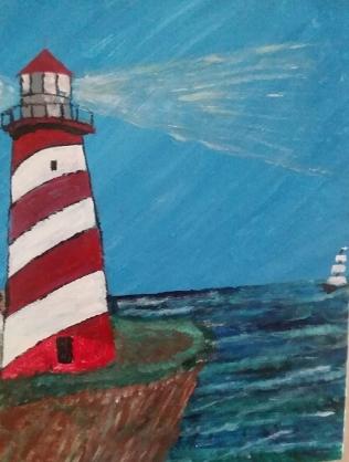 Lighthouse by Bob Ossler