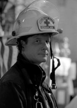 Chaplain Bob Ossler at Ground Zero, NYC